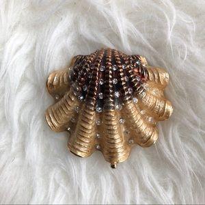Vintage Sea Shell trinket box